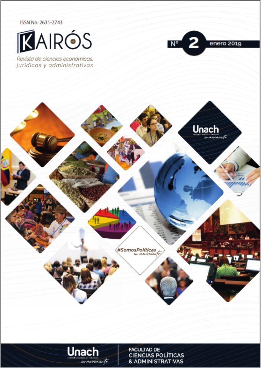 Ver Vol. 2 Núm. 2 (2019): Kairós, Revista de Ciencias Económicas, Jurídicas y Administrativas