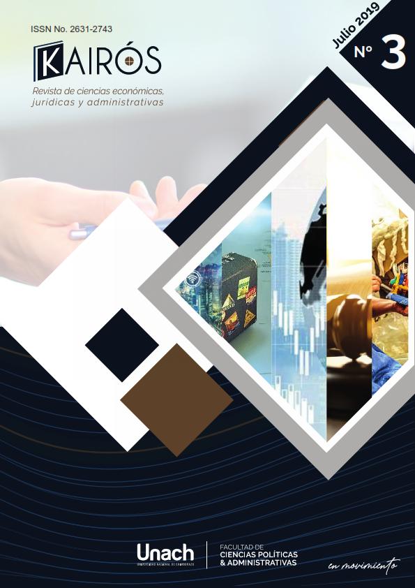 Ver Vol. 2 Núm. 3 (2019): Kairós, Revista de Ciencias Económicas, Jurídicas y Administrativas
