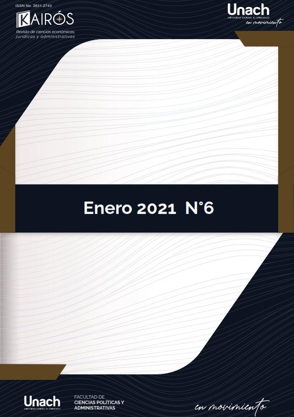 Ver Vol. 4 Núm. 6 (2021): Kairós, Revista de Ciencias Económicas, Jurídicas y Administrativas